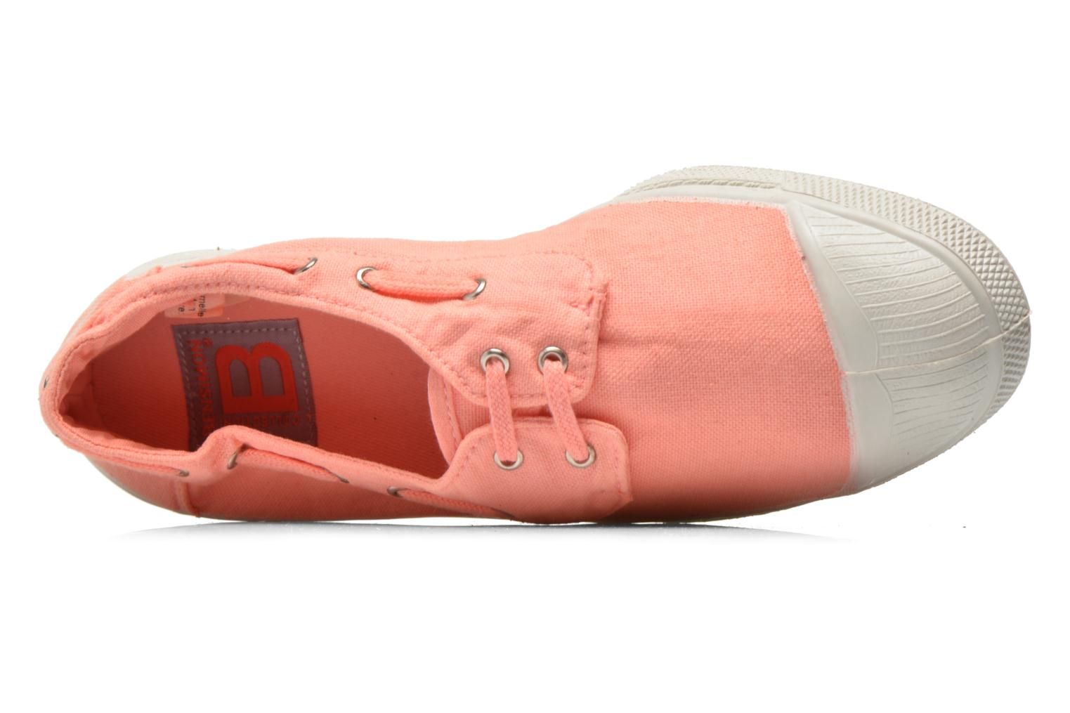 Trainers Bensimon Tennis bateau Orange view from the left