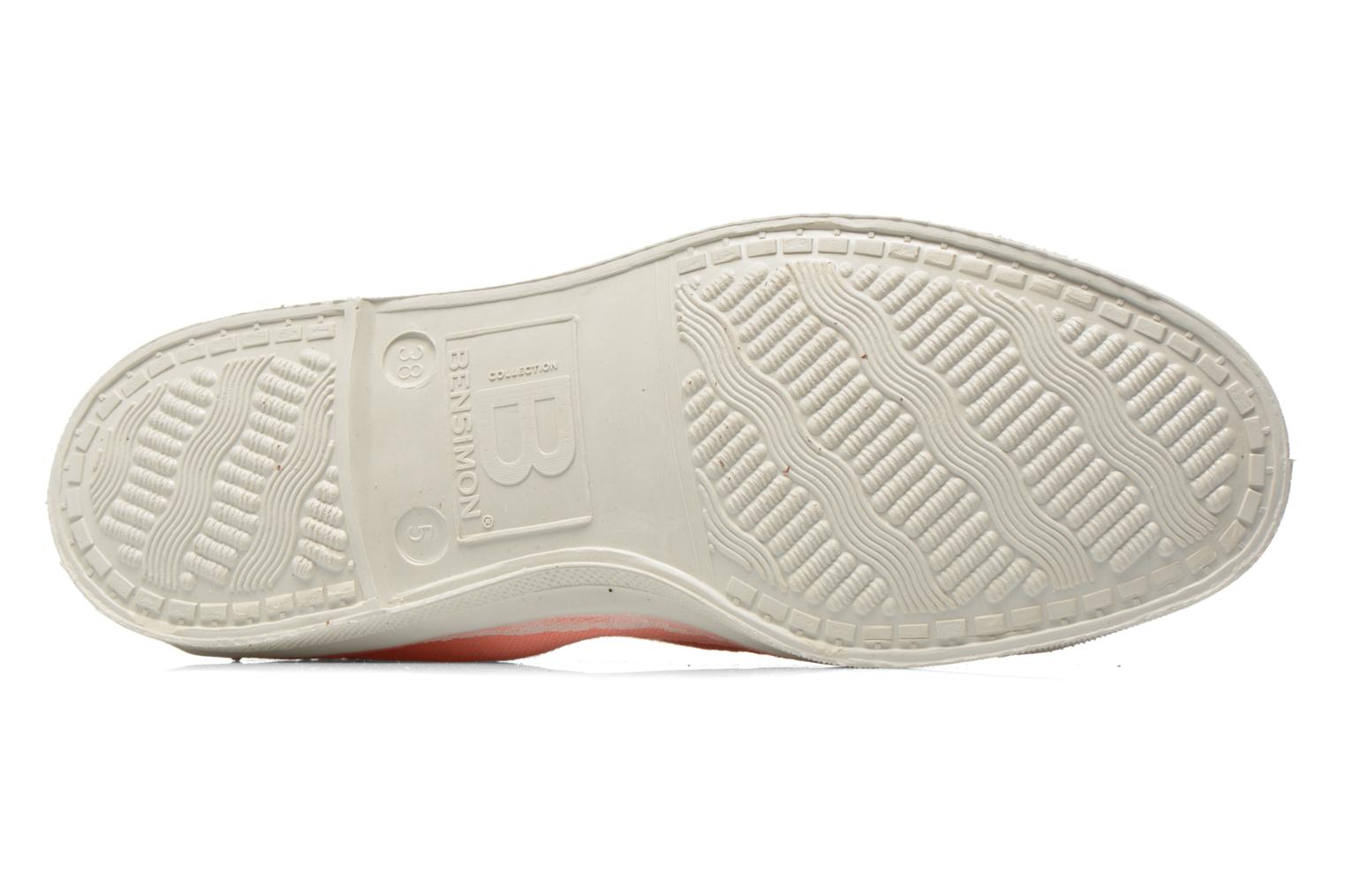Trainers Bensimon Tennis bateau Orange view from above