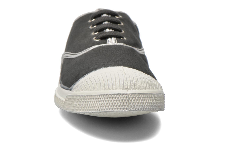 Baskets Bensimon Tennis Shinnypiping Gris vue portées chaussures