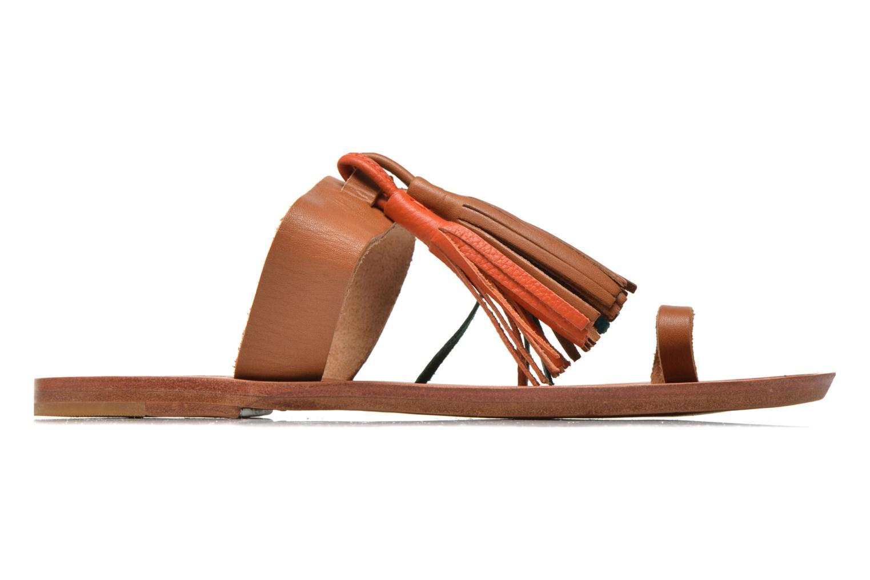 Clogs & Pantoletten Bensimon Sandale Pompon mehrfarbig ansicht von hinten