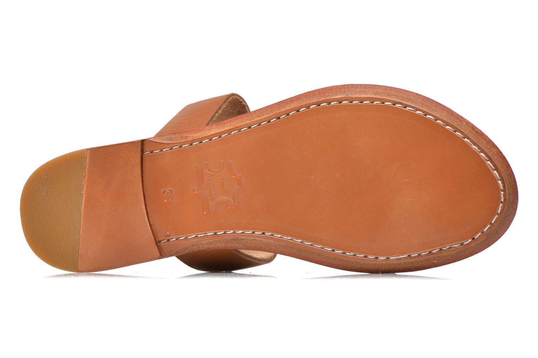 Clogs & Pantoletten Bensimon Sandale Pompon mehrfarbig ansicht von oben