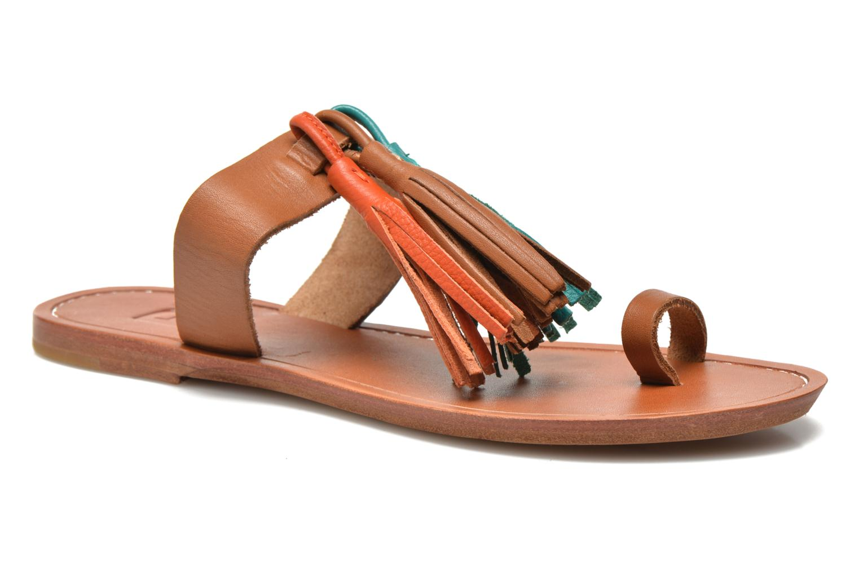 Clogs & Pantoletten Bensimon Sandale Pompon mehrfarbig detaillierte ansicht/modell