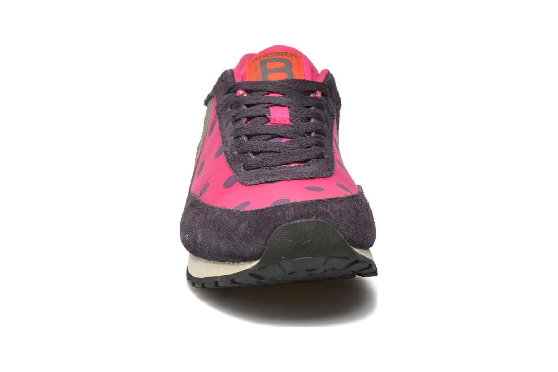 Baskets Bensimon Running Nylon Multicolore vue portées chaussures