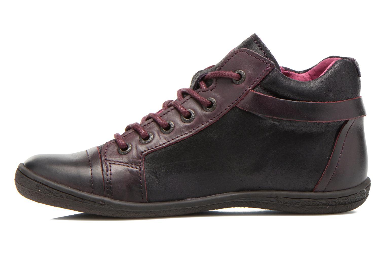 Chaussures à lacets Kickers Camaiou Violet vue face
