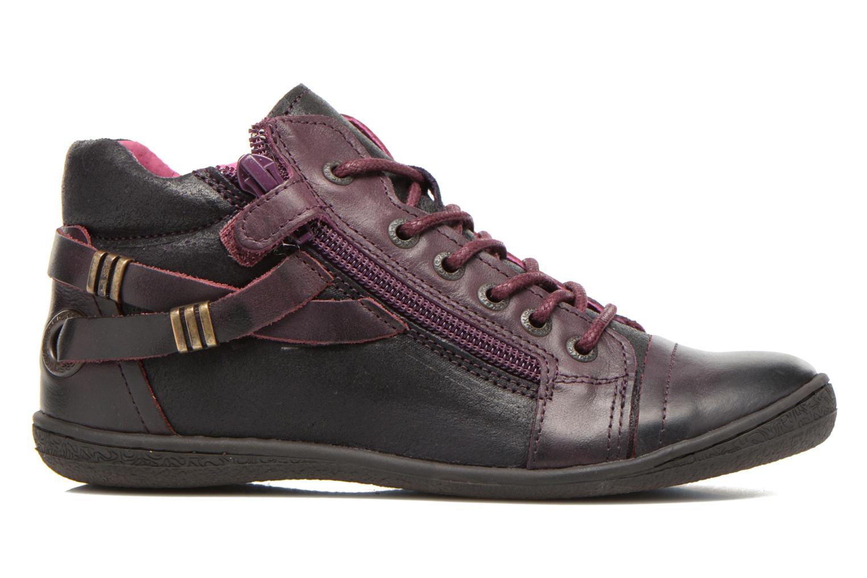 Chaussures à lacets Kickers Camaiou Violet vue derrière