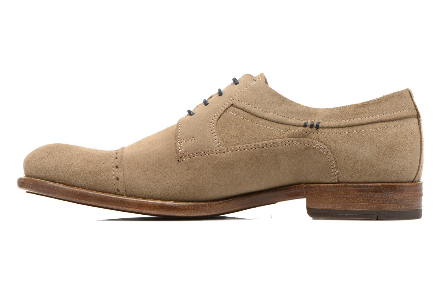 Chaussures à lacets Marvin&Co Thelodi Beige vue face