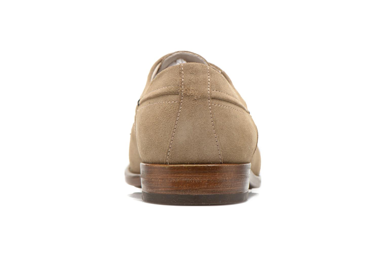Chaussures à lacets Marvin&Co Thelodi Beige vue droite