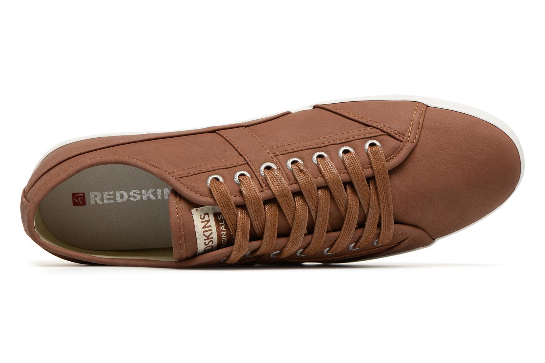 Sneakers Redskins Zivol Bruin links