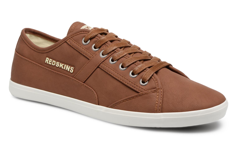 Sneakers Redskins Zivol Bruin detail