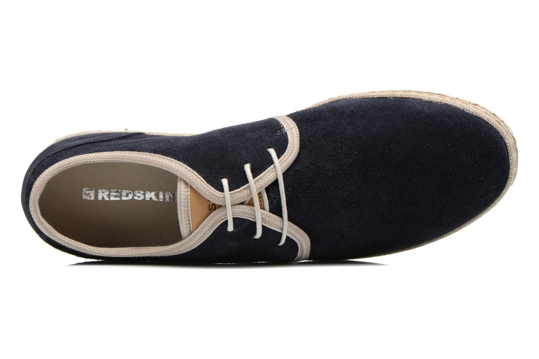 Chaussures à lacets Redskins Sagot Bleu vue gauche