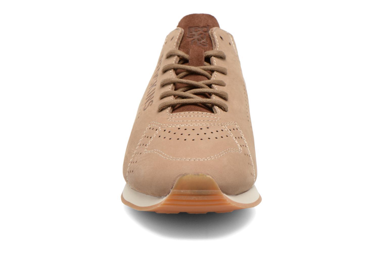 Baskets Redskins Elliac Beige vue portées chaussures