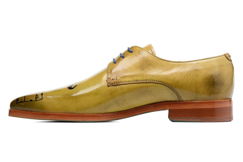 Zapatos con cordones Melvin & Hamilton Lewis 13 Amarillo vista de frente