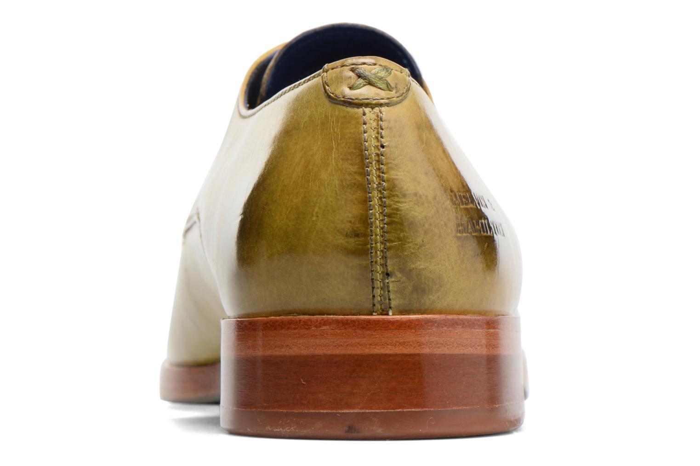 Zapatos con cordones Melvin & Hamilton Lewis 13 Amarillo vista lateral derecha
