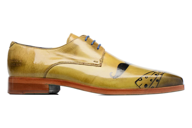 Zapatos con cordones Melvin & Hamilton Lewis 13 Amarillo vistra trasera