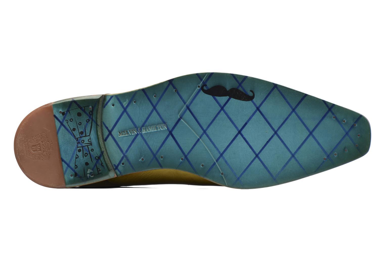 Zapatos con cordones Melvin & Hamilton Lewis 13 Amarillo vista de arriba