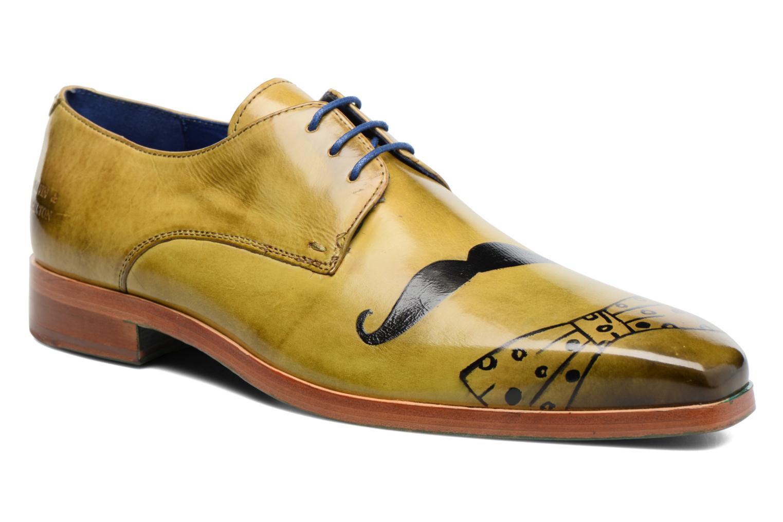 Zapatos con cordones Melvin & Hamilton Lewis 13 Amarillo vista de detalle / par