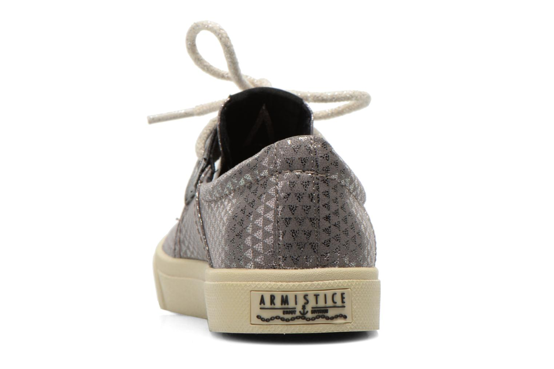 Chaussures à lacets Armistice Hope One W Argent vue droite