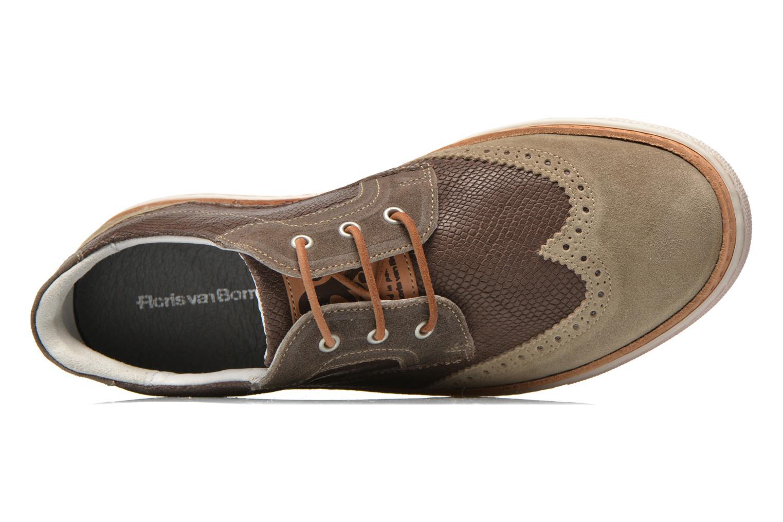 Chaussures à lacets Floris Van Bommel Eric 17059 Marron vue gauche