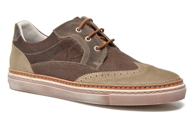 Chaussures à lacets Floris Van Bommel Eric 17059 Marron vue détail/paire