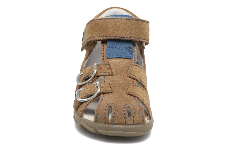Sandales et nu-pieds Richter Alenata Marron vue portées chaussures
