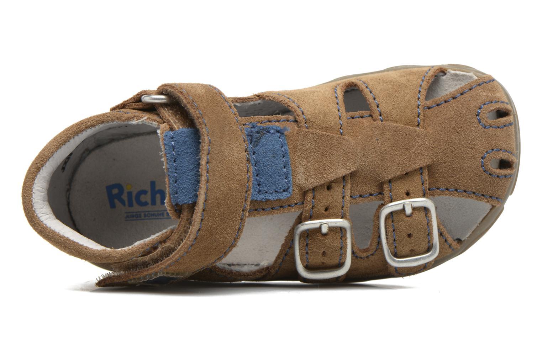 Sandali e scarpe aperte Richter Alenata Marrone immagine sinistra