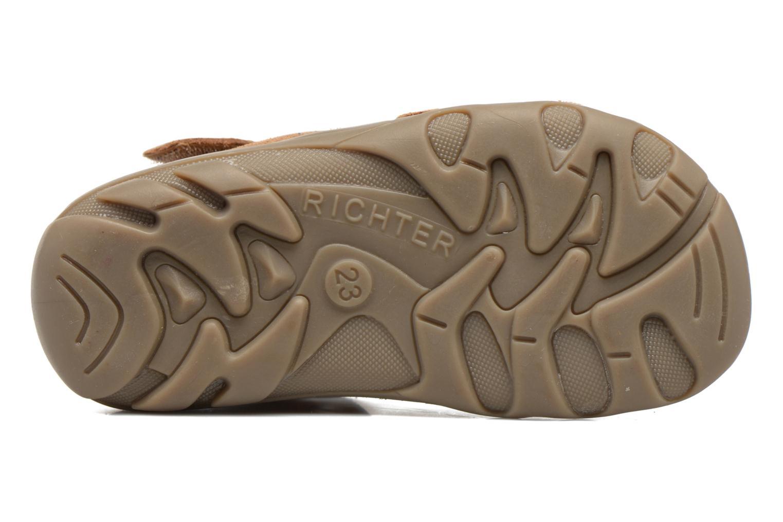 Sandales et nu-pieds Richter Alenata Marron vue haut