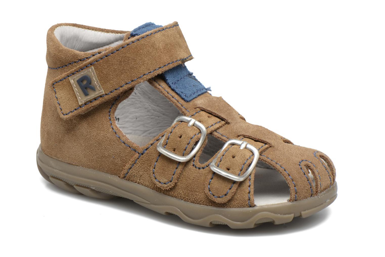 Sandales et nu-pieds Richter Alenata Marron vue détail/paire