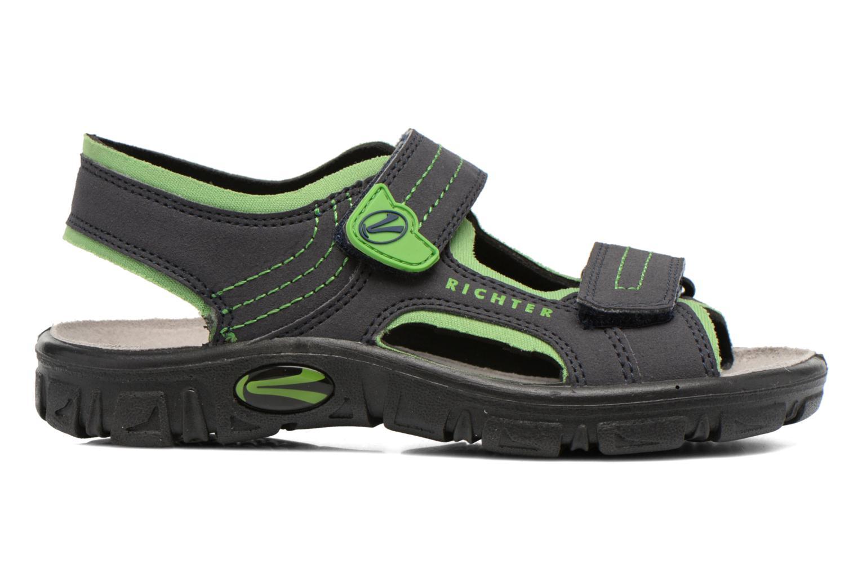 Sandales et nu-pieds Richter Korbl Noir vue derrière