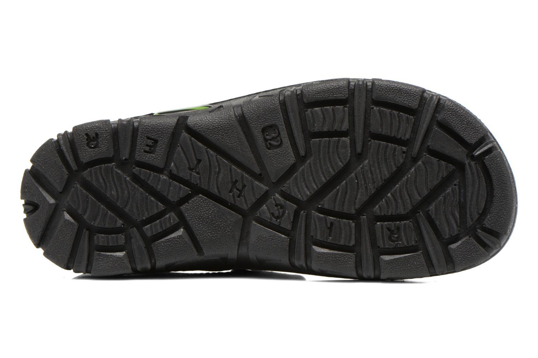 Sandales et nu-pieds Richter Korbl Noir vue haut