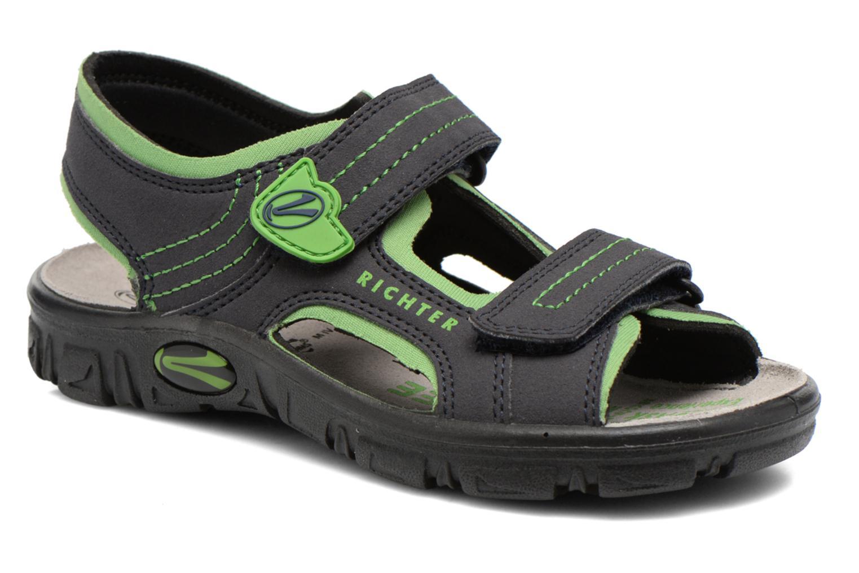 Sandales et nu-pieds Richter Korbl Noir vue détail/paire