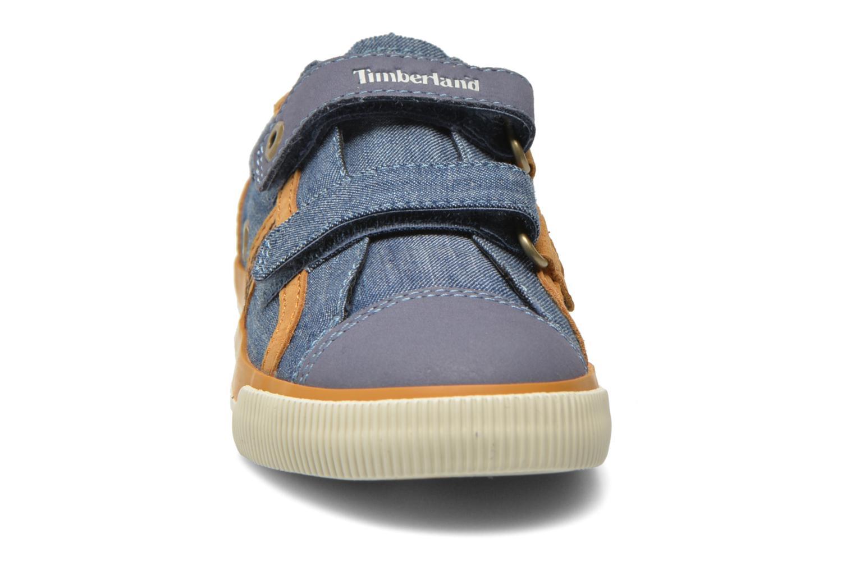Baskets Timberland Glastenbury Hook & Loop O Bleu vue portées chaussures
