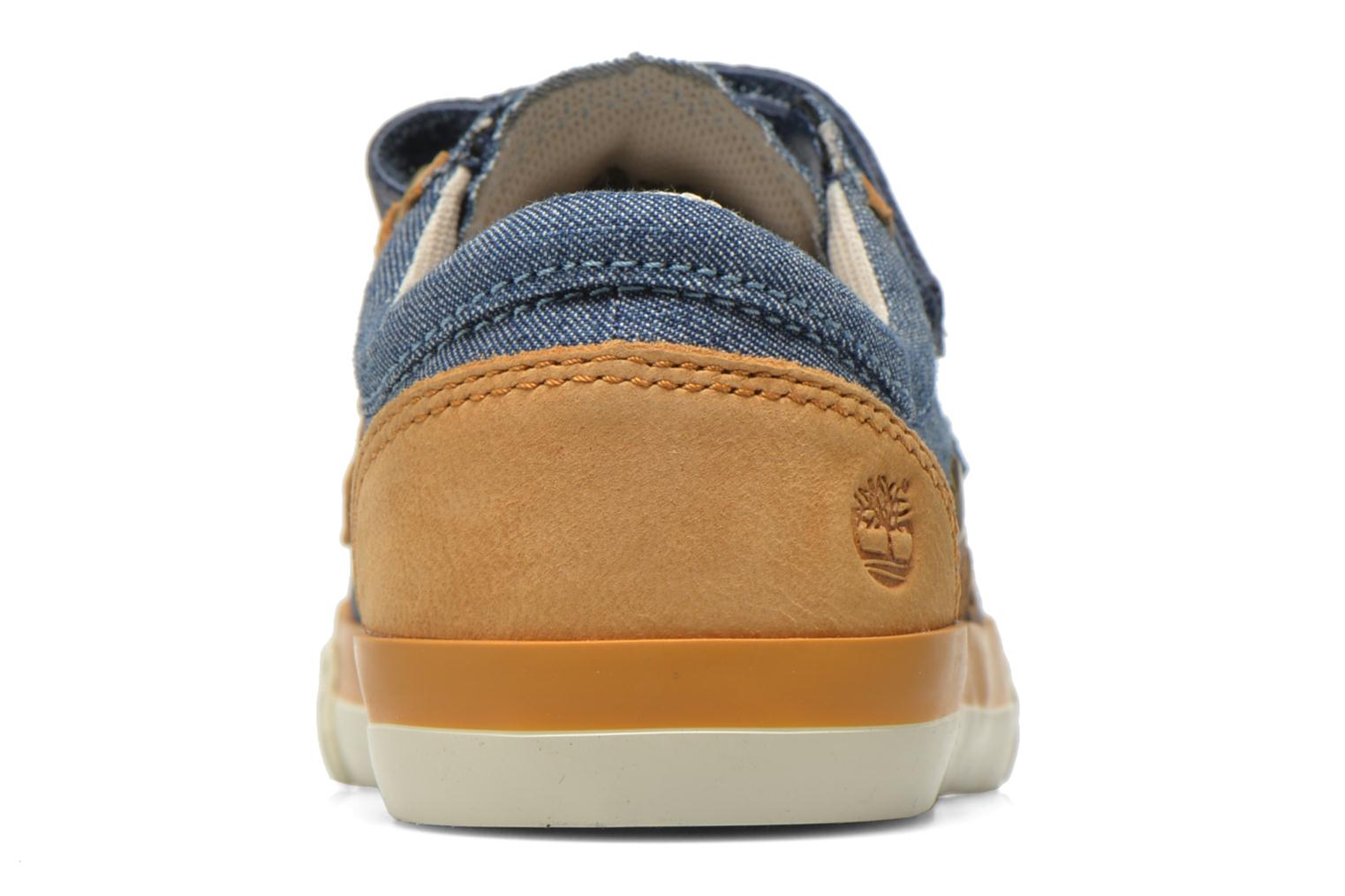 Glastenbury Hook & Loop O Vintage Indigo Canvas & Goat Nubuck