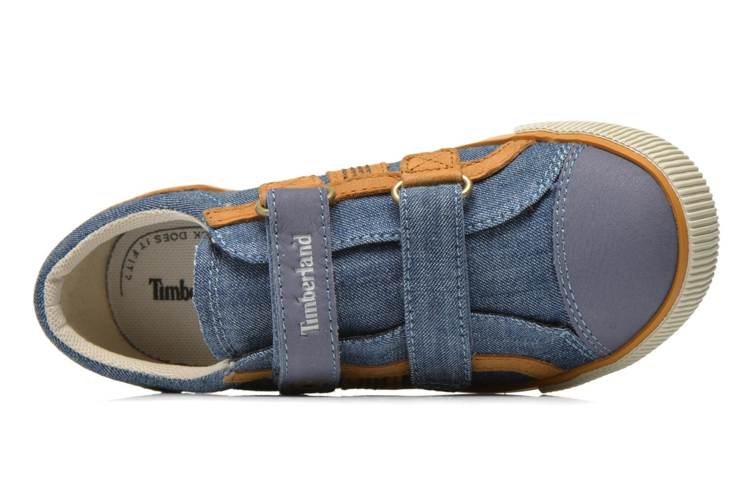 Sneaker Timberland Glastenbury Hook & Loop O blau ansicht von links