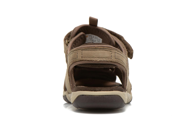 Sandales et nu-pieds Timberland Oak Bluffs Leather Fisher Gris vue droite