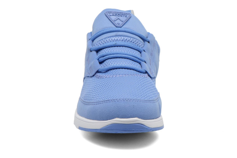 Baskets Lacoste L.Ight 216 1 Bleu vue portées chaussures