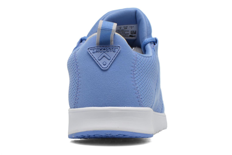Baskets Lacoste L.Ight 216 1 Bleu vue droite