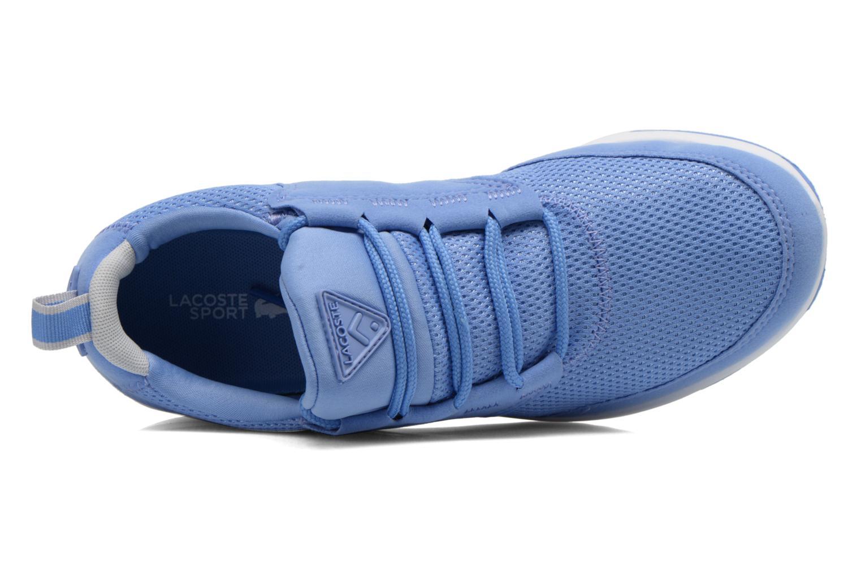 Baskets Lacoste L.Ight 216 1 Bleu vue gauche