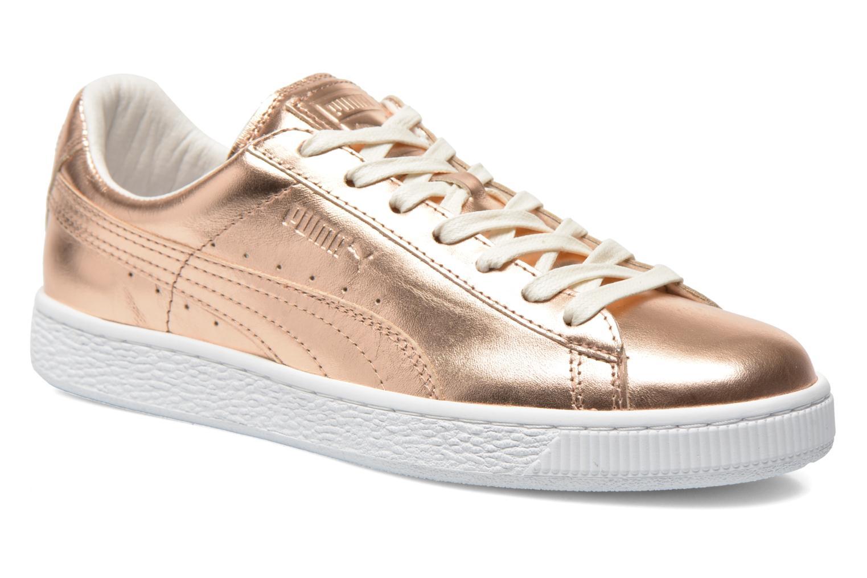 Zapatos promocionales Puma Basket Creepers Metallic (Rosa) - Deportivas   Cómodo y bien parecido