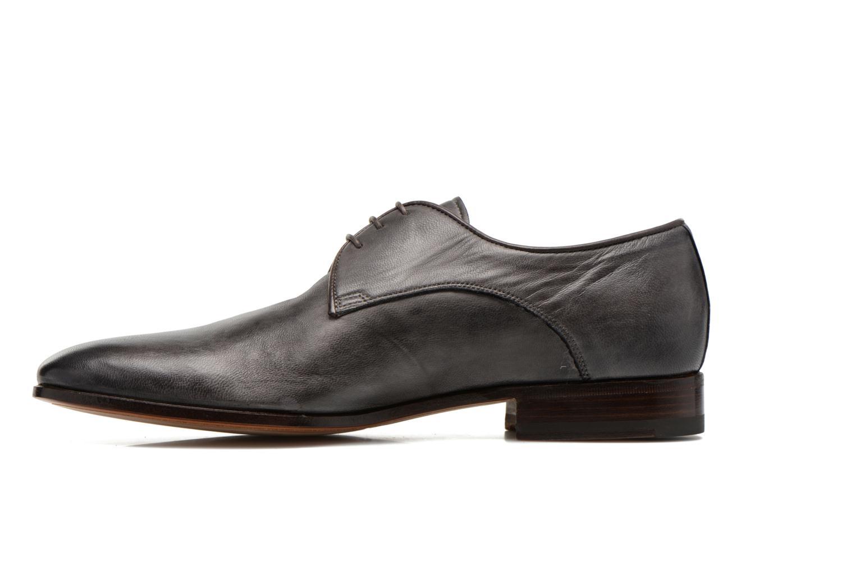 Chaussures à lacets Santoni Moore 12419 Gris vue face