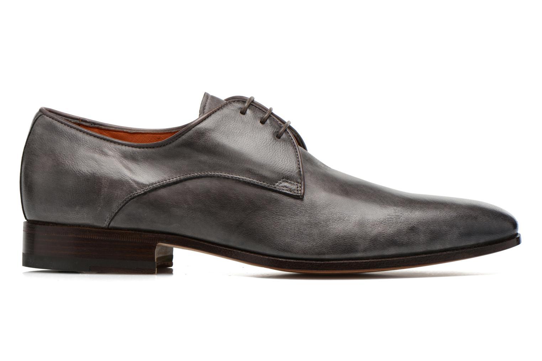 Chaussures à lacets Santoni Moore 12419 Gris vue derrière