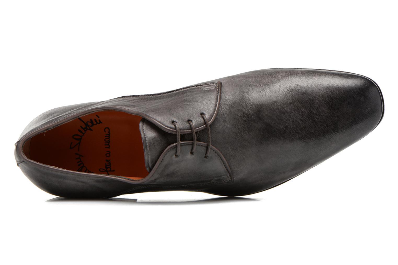 Chaussures à lacets Santoni Moore 12419 Gris vue gauche