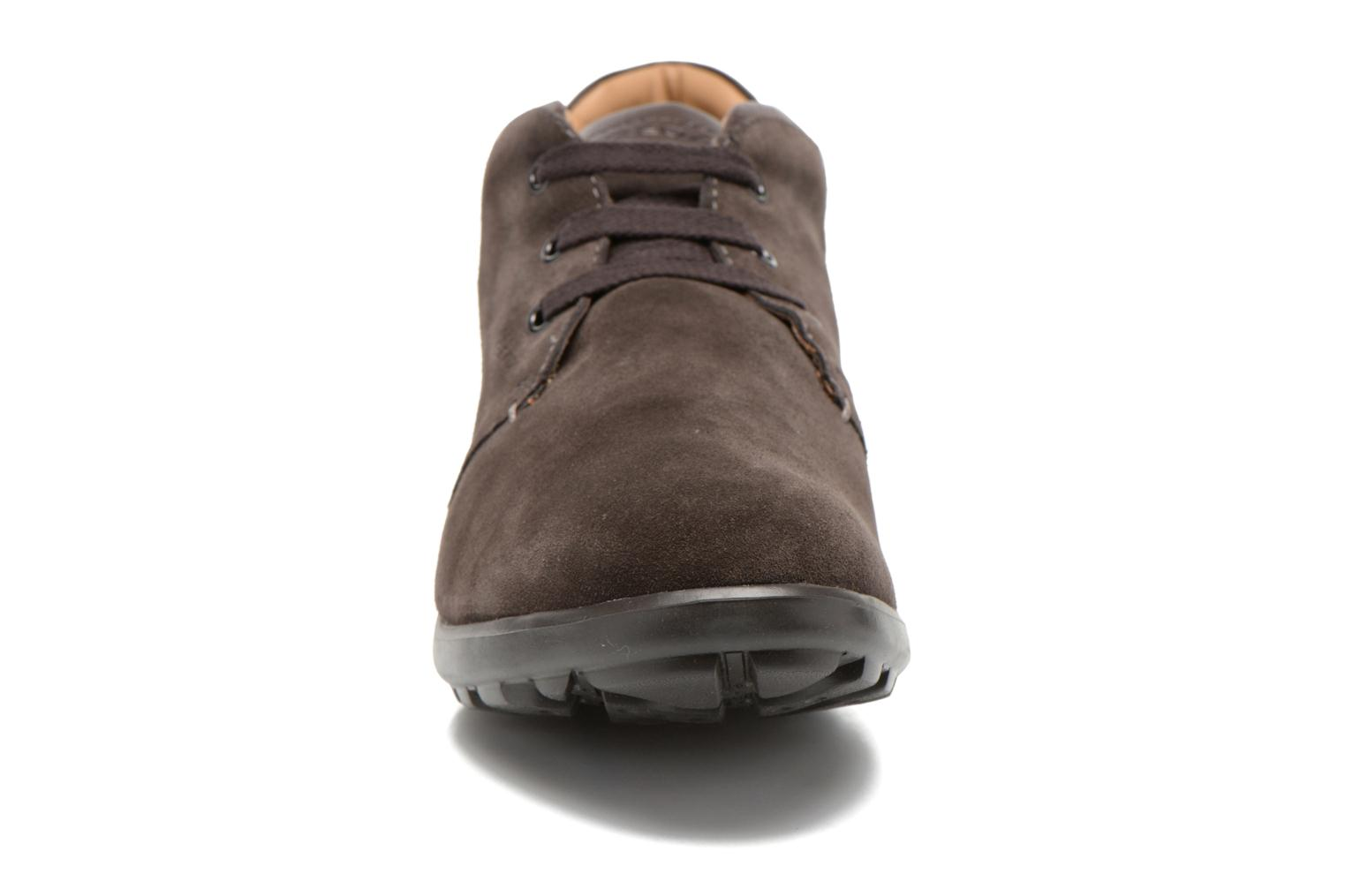 Lace-up shoes Geox U Mantra U44R5B Brown model view