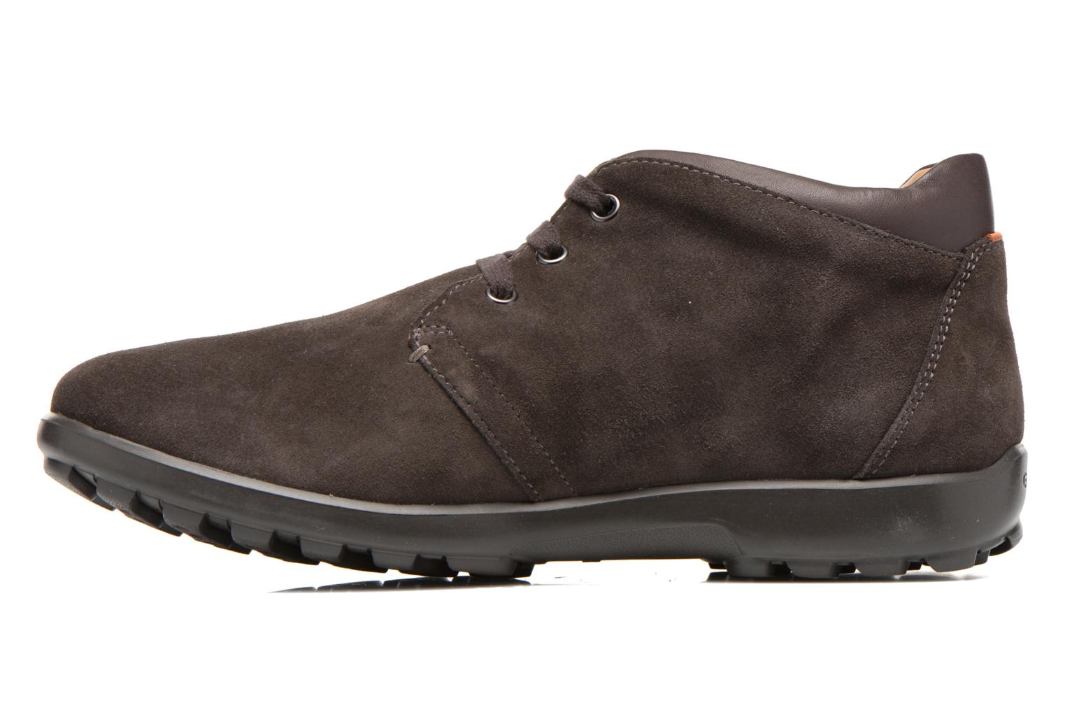 Lace-up shoes Geox U Mantra U44R5B Brown front view