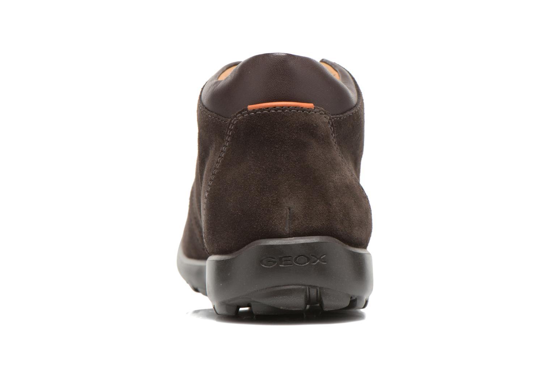 Chaussures à lacets Geox U Mantra U44R5B Marron vue droite