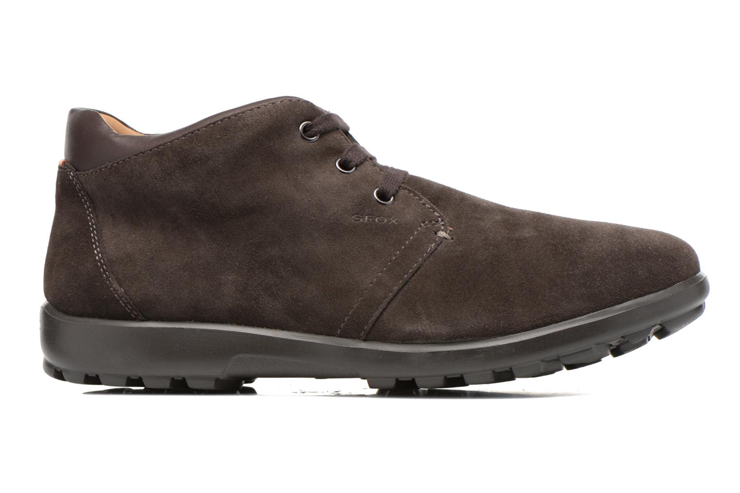 Lace-up shoes Geox U Mantra U44R5B Brown back view