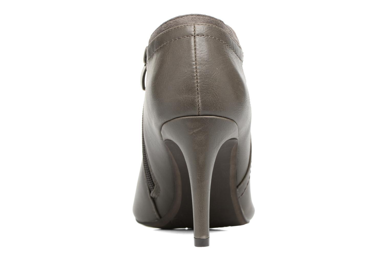 Bottines et boots Divine Factory Adatara Gris vue droite