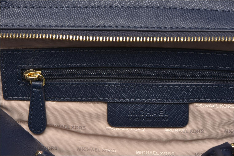 Handtaschen Michael Michael Kors SELMA MD TZ SATCHEL blau ansicht von hinten