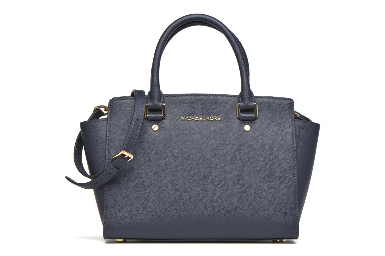 Handtaschen Michael Michael Kors SELMA MD TZ SATCHEL blau detaillierte ansicht/modell