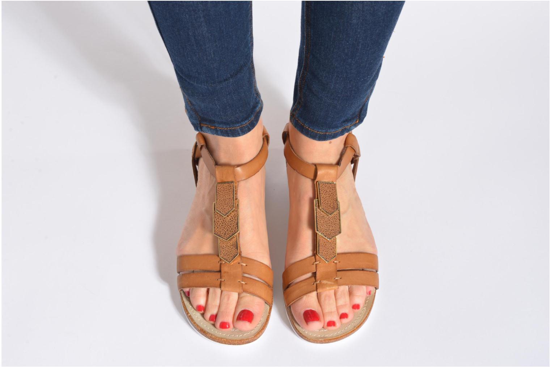 Sandales et nu-pieds Hush Puppies Bretta Jade Blanc vue bas / vue portée sac