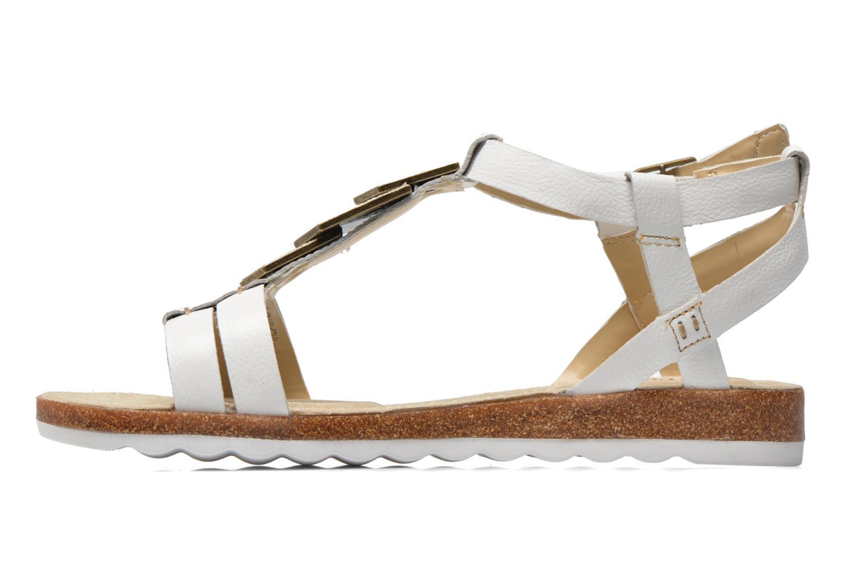 Sandales et nu-pieds Hush Puppies Bretta Jade Blanc vue face